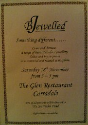 [BJewelled at The Glen Bar, Carradale]