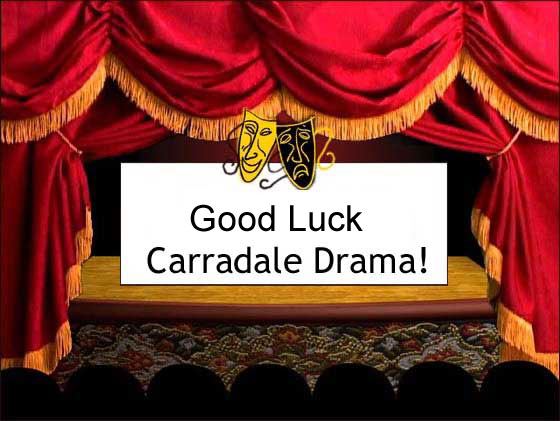 [Good luck to Carradale Drama Group]