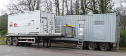 [Mobile Generator in Carradale Surgery Carpark]