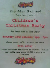 [Childrens Party at The Glen Bar, Carradale