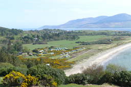 [Carradale Bay and caravan park, Copyright Gary Sutherland 2007]