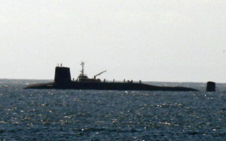 [Submarine off of Peninver]