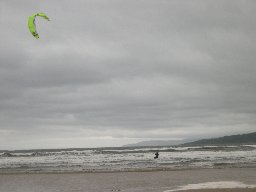 [Kite Surfing at Carradale]