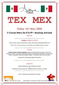 [Tex Mex at the Ashbank Hotel, Carradale]